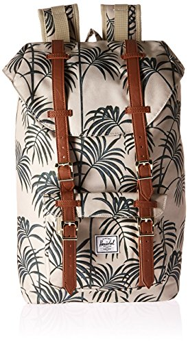 76402aecce Herschel Little America Mid-Volume Pelican Palm Tan Synthetic Leather