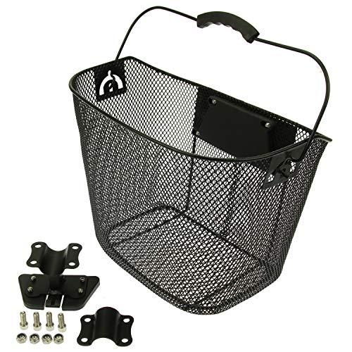 Mach1 Korb/Körbchen für vorne in schwarz E-Scooter