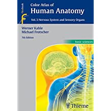 Color Atlas of Human Anatomy, Vol. 3: Nervous System and Sensory Organs (English Edition)