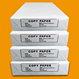 2000 Blatt Druck- und Kopierpapier DIN A4 75g/m² COPY PAPER Kopierpapier, Druckerpapier, Universalpapier, Papier 4 x 500 Blatt weiß Laserpapier & Fax versando