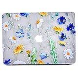 L2W Coque MacBook Air 13, Motif de Design Floral Brillant Mat Transparent Transparent...