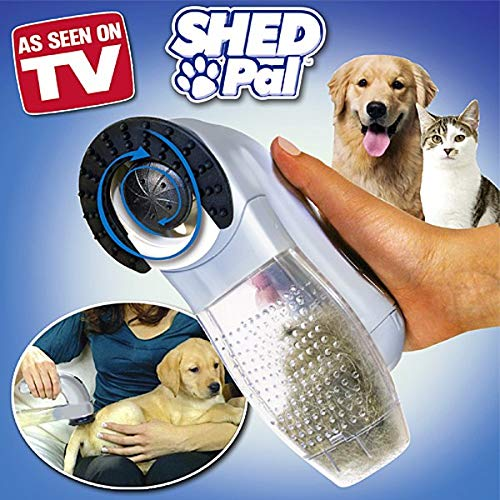 F.M.-LED ASPIRAPELI ASPIRA PELI Pet Vacuum per Animali Domestici Cane Gatto A BATTERIE