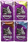 Whiskas 7+ Senior Cat Pouches Variety in Jelly, 84 x 100 g