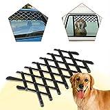 Easy-topbuy Haustier Auto Fenster Schutzzaun Hund Tür Retractable Zaun Absperrgitter für Hunde