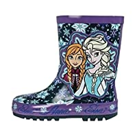 Disney Frozen Girls Rubber Wellington Boots