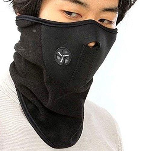Forfar Maske Winddichte Wärme Gesichtsmasken Schutzmaske Anti Cold Winter Staubdicht Zubehör PortableCycling Ear Mask (Kalt-wetter-helm Zubehör)
