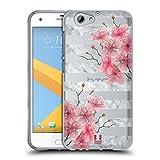 Head Case Designs Azalee in Blüte Marmor und Blumen Soft Gel Hülle für HTC One A9s