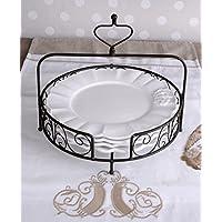 suchergebnis auf f r shabby chic teller geschirr besteck gl ser k che haushalt. Black Bedroom Furniture Sets. Home Design Ideas