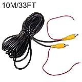 10M 32FT vidéo cable rallonge rca jack câble prise phono connecteur plug pour recul voiture fil de...
