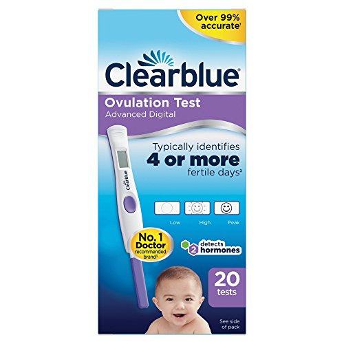 Prueba digital de ovulación y embarazo