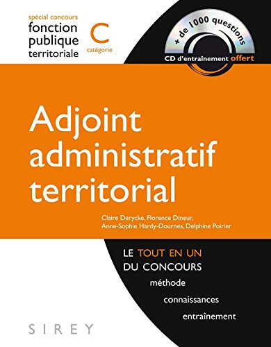 Adjoint administratif territorial - catgorie C - 1re dition