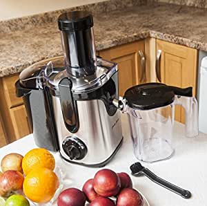 Powerful 2.0L Whole Fruit Juicer/Smoothie maker - 800W Power! (Free Cleaning Brush)