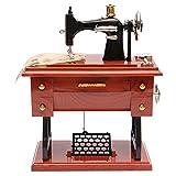 #10: Generic Vintage Mini Treadle Sewing Machine Mechanical Music Box