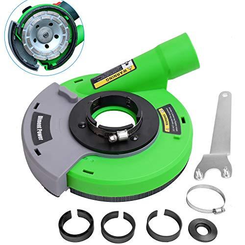 Diment Power Absaughaube für Winkelschleifer 115/125 mm,Grün