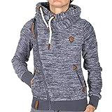 Naketano 3sisch Euro Swansisch Minut Pl Jacket Indigo Blue Melange XL
