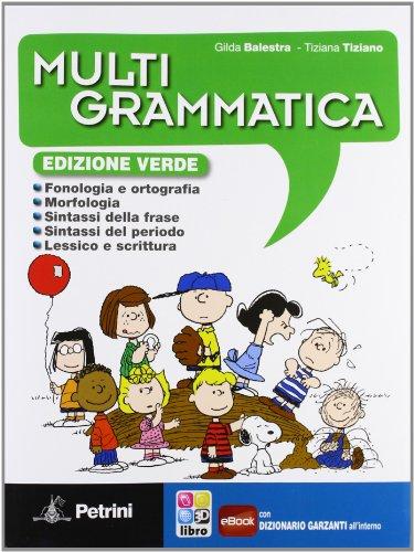 Multigrammatica. Con Palestra INVALSI. Ediz. verde. Per la Scuola media. Con e-book. Con espansione online