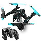 Drohne RC Drohne Mit 2MP HD Wifi Kamera Live Feed 2 4 GHz 4-Achsen-Gyro Quadcopter Mit Höhe Halten Kompatibel Mit 3D-VR-Brille,DoubleBattery