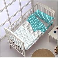 Saco Nórdico CON Relleno TRIANGLE col.azul para cama de 70 x 160 ...