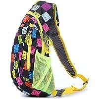 Shuzhen,Bolsa Multiusos Resistente al Agua 822 20L para Acampar al Aire Libre y Correr(Color:Colormix,Size:Patrón de llanta)