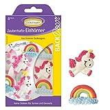 BackDecor Zuckerfiguren Regenbogen | Einhörner | Einhorn | Unicorn | Rainbow | Pony