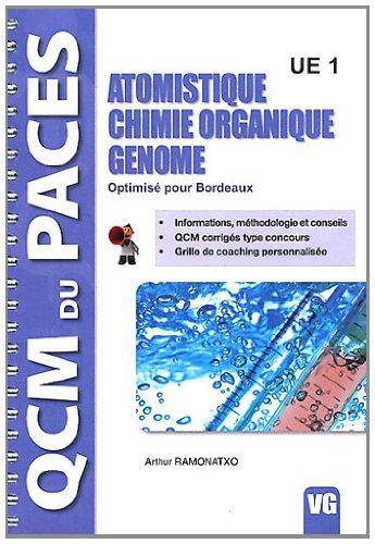Atomistique, chimie organique, génome UE1 : Optimisé pour Bordeaux