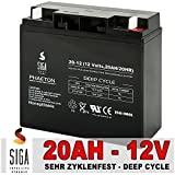 Akku 12V 20Ah AGM Blei GEL Batterie Elektro Fahrrad Scooter Solar USV 17Ah 18Ah Bleiakku