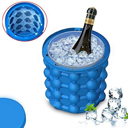 Ice Cube Maker Eimer Silikon Genie Revolutionäre Küche Werkzeug platzsparend für Party/Bar/mocktails/Cocktails/Saft/Wein/Wasser Ice Cube Tablett Kühler
