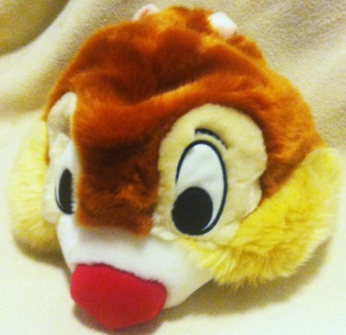 Dale Plush Hat Youth Size, Dale Head, Great Halloween Easter Costume Accessory by Disney ()