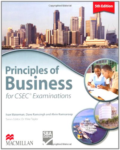 Principles of Business for CSEC Examinations 5th Edition