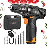 Best Cordless Drill Drivers - Cordless Drill Driver, Tacklife PCD01B 12V Lithium-Ion Electric Review