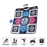 USB Dance Mat Pad, Electronic Musical Playmat Toys PC USB Dancing Mat, Padded Mat for an Arcade Feel