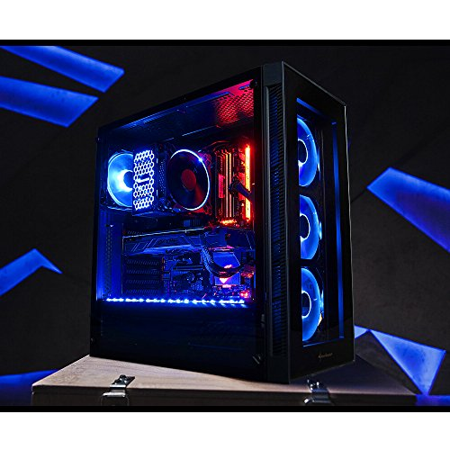 GameMachines Slayer - RGB Gaming PC - Intel Core i7 8700 - NVIDIA GeForce GTX 1080 - ASUS ROG STRIX GAMING Mainboard - RGB Beleuchtung & RGB Lüfter - 250GB SSD - 2TB Festplatte - 16GB DDR4 - WLAN - Windows 10 Pro