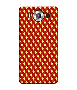 PrintVisa Designer Back Case Cover for Microsoft Lumia 950 :: Nokia Lumia 950 (Mesh Cross Check Window Door)