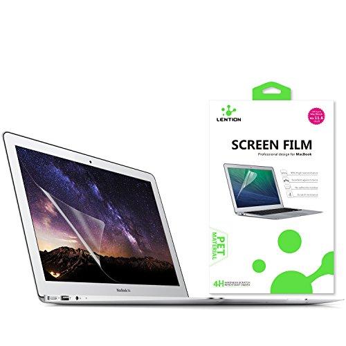 Lention Clear Screen Protector Displayschutz für MacBook Air (11 Zoll, Ende 2010 bis Anfang 2015) - Modell A1370 / A1465, HD Schutzfolie mit hydrophober oleophober Beschichtung