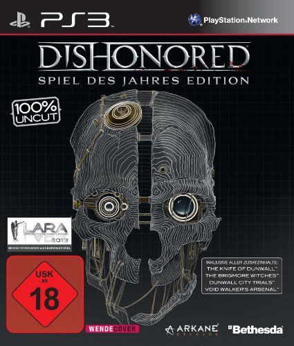 Dishonored: Spiel des Jahres Edition - [PlayStation 3] (Dishonored 3 Playstation)