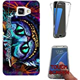 753 - Cheshire Cat We're All Mad Here Design Samsung Galaxy A5 (2016) SM-A510F Fashion Trend Complete 360 Degree protection Coque Gel Rubber Silicone protection Case Coque
