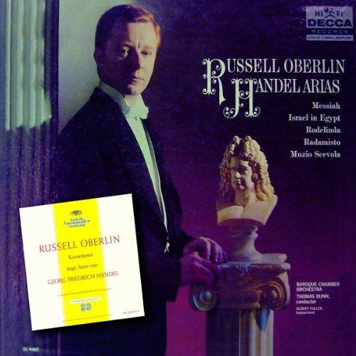 Russell Oberlin Chantes Des Airs De Haendel