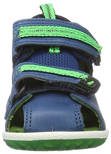 Ecco Lite 753, Chaussures Marche Bébé Garçon Bleu (50219Poseidon/Meadow)