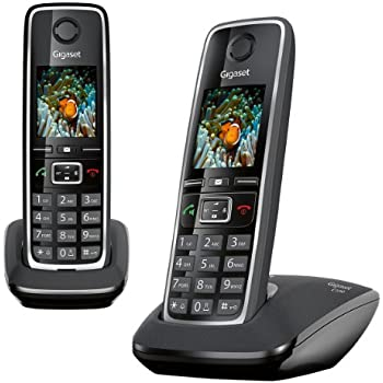 gigaset as405 duo t l phone sans fil dect gap noir high tech. Black Bedroom Furniture Sets. Home Design Ideas