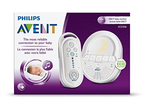 Philips Avent SCD506/26 DECT Babyphone (Smart Eco Mode, Gegensprechfunktion)