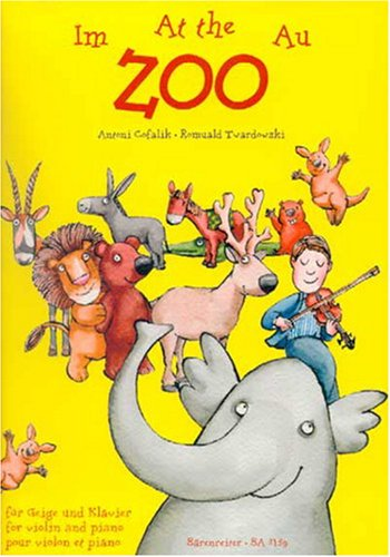 Au Zoo (pièces faciles) Violon/Piano