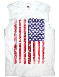 TEE-Shirt, Men T-Shirt USA Flag