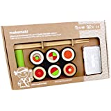 Milaniwood Makemaki Jouet en bois Sushi Jeu d'adresse Fair Trade Made in Italy