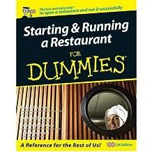 [(Starting and Running a Restaurant For Dummies )] [Author: Carol Godsmark] [Dec-2007]