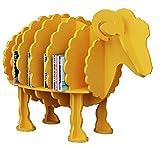 XIAOLIN Scaffale per libri Scaffale creativo per modellare animali Articoli artigianali in legno Tipo di stand-up Decorazioni decorative Decorazione negozio Colore facoltativo, dimensioni