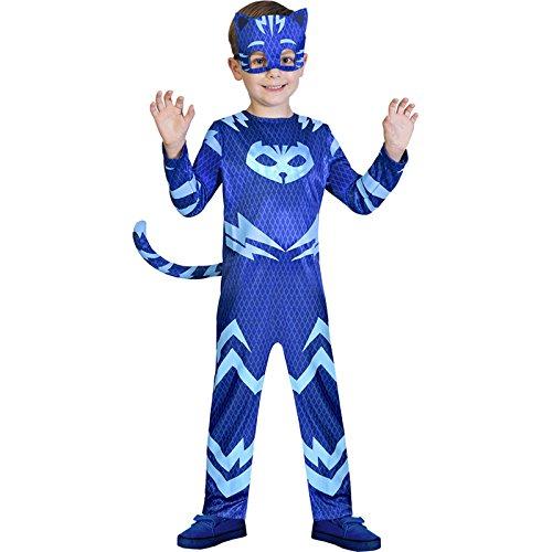 Catboy PJ Masks Kostüm Kinder Jungen (Masken Kostüm Catboy Pj)