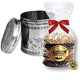 5 gemischte Elisen Lebkuchen in der Dose - Motiv Nürnberg - Silber - ideal als Geschenk zu Weihnachten