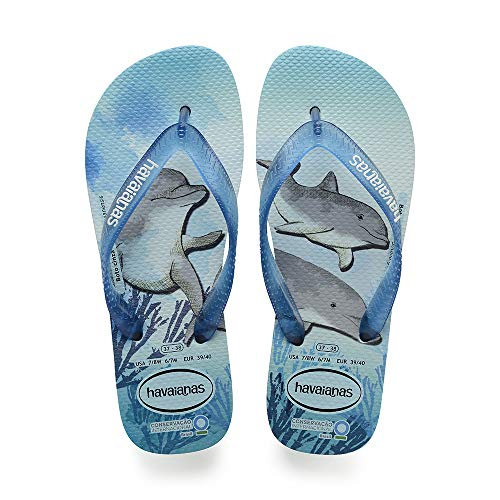 Havaianas Conservation International, Infradito Unisex Adulto, Multicolore (Ice Blue 0642), 37/38 EU