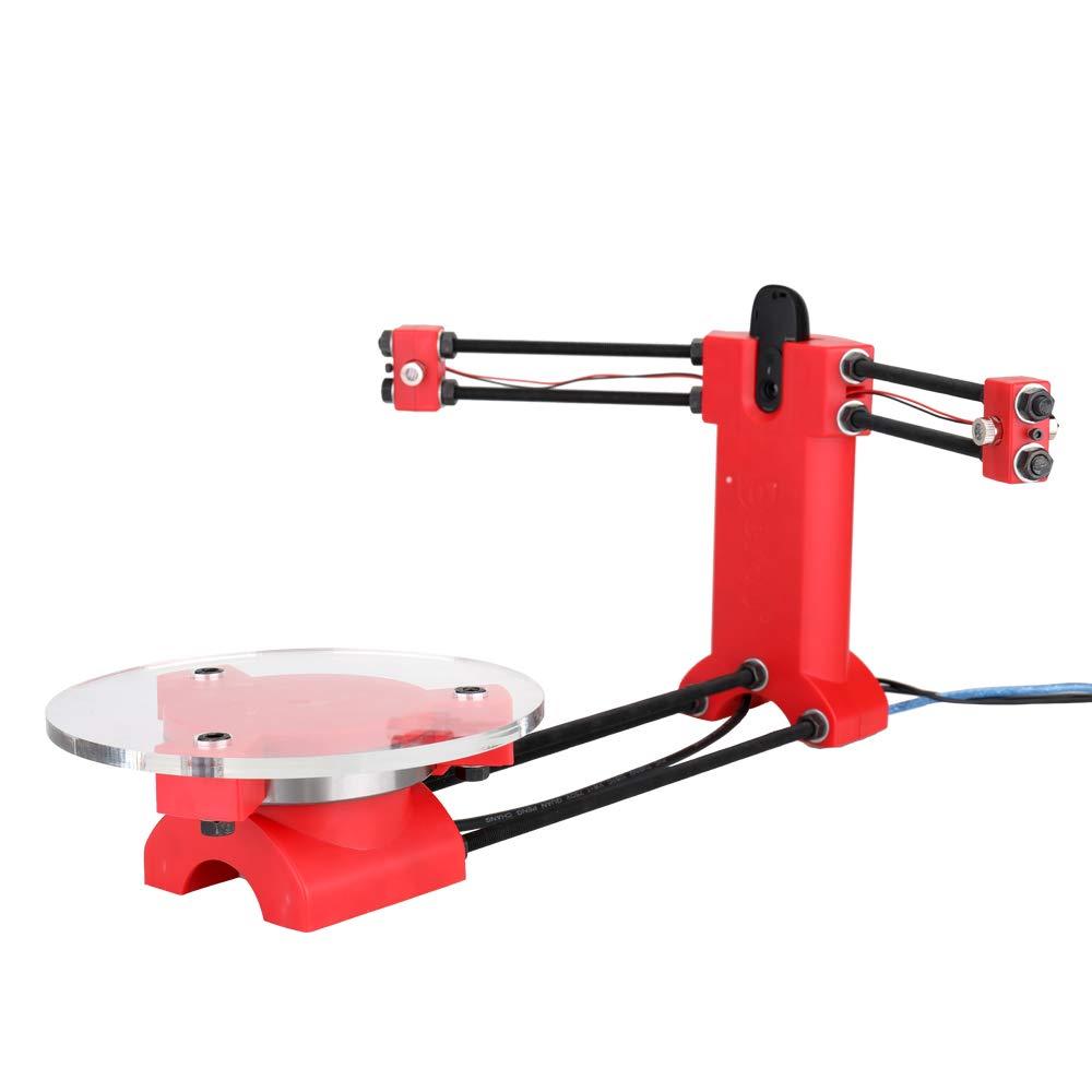 KKmoon DIY 3D Scanner Open Source de haute précision Desktop Kit de base Scanister avec prise multifonction