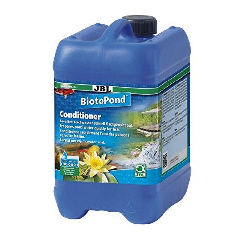 JBL BiotoPond 26063 Wasseraufbereiter für Teiche, 5 l (Chloramin Entfernung)
